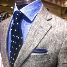 #Grey #Suit #Jacket #Shirt #Blue #Gray #Tie