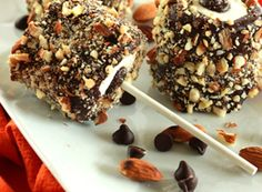 Nutty Buddy Marshmallow Pops...four ingredients...45 minutes...all done!