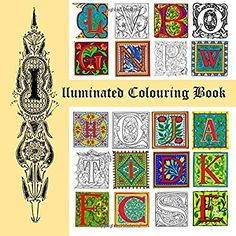 Illuminated Colouring Book