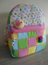 Resultado de imagen para mochila infantil em patchwork