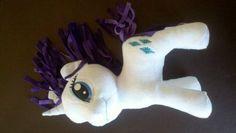 "Amazon.com: My Little Pony Friendship Is Magic 11"" Plush Figure Rarity: Toys & Games"
