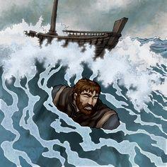Paul: Shipwreck by eikonik.deviantart.com on @DeviantArt