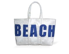 My new beach tote.  Can't wait to use it!  It's made from recycled sailboat sails.  Love it!!!