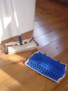 細編みのリング編みでお掃除モップの作り方|編み物|編み物・手芸・ソーイング|ハンドメイド・手芸レシピならアトリエ