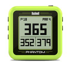 The Bushnell Phantom GPS is a convenient Golf device with the Bite Magnetic Mount. You can use this handheld device in at least 30 countries. It has data in it. Workout Accessories, Golf Accessories, Bushnell Golf, Golf Range Finders, Bluetooth, Golf Gps Watch, Golf Apps, Golf Pride Grips, Digital