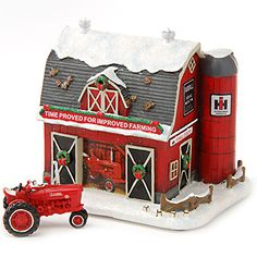 Farmall Holiday Barn w/ Free Farmall H Tractor | ShopCaseIH.com