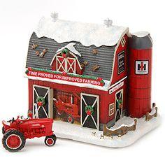 Farmall Holiday Barn w/ Free Farmall H Tractor   ShopCaseIH.com