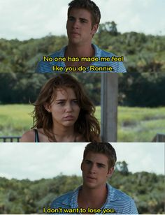 No one has made me feel like you do, Miley*, i don't wanna to lose you. � do u like The Last Song movie? Tv Show Quotes, Film Quotes, Quotes Quotes, Lyric Quotes, Shia Labeouf, Logan Lerman, Song Quotes Tumblr, Love Movie, Movie Tv