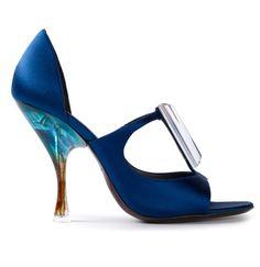 Giorgio Armani spoon sandals!!!