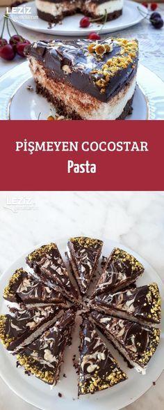 Pişmeyen Cocostar Pasta