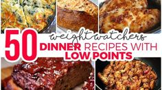 50 Weight Watchers Dinner Recipes with Low Points – Easy Recipes