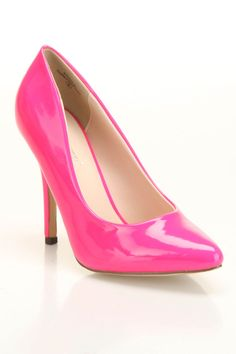 Pinky Athena-81 Pumps In Fuchsia - Beyond the Rack