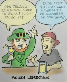 """Finicky Leprechaun."" is published by Obnoxious Rhinoceros"