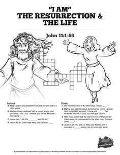 Acts 8 Philip and the Ethiopian Sunday School Crossword
