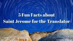 '5 Fun Facts about Saint Jerome for the Translator' I present 5 fun facts about Saint Jerome that give new translators a good overall picture of our patron saint. Who knows, the experienced translator may also be able to brush up on his/her Saint Jerome trivia… Read the blog at http://budgetvertalingonline.nl/translations/5-fun-facts-about-saint-jerome-for-the-translator/