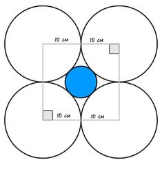 Geometry Math Problem With Solution – Maths Solutions Circle Geometry, Circle Art, Geometry Art, Math Problems With Solutions, Maths Solutions, Geometry Questions, Math Questions, Sum Of Squares, School