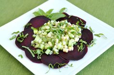 Post image for Summer Beet Salad with Corn, Cucumber and Basil