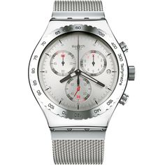 Leuke klok: Swatch Irony Silverish YVS405G