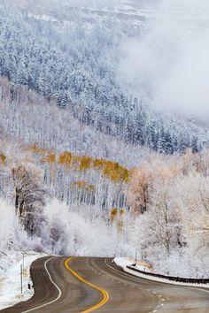 Colorado highway  (by Daniel Walker on 500px)