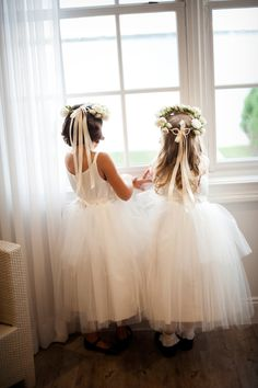 A Flower Girl's Guide to Getting Ready | Photo by: Snap! Photography | TheKnot.com
