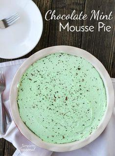 Chocolate Mint Mouss