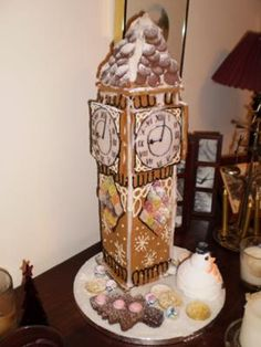 Now I'm thinking international gingerbread houses...