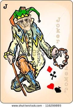 Joker playing card  Image ID: 116299885     Release  information: N/A