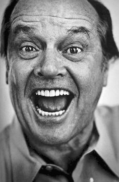Jack Nicholson, yes again as I cant think of anyone I'd rather go to a formal tight ass function with, it'd be a blast.