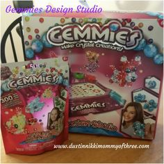 Gemmies Design Studio & Refill Pack Blog Giveaway #giveaway #spon « DustinNikki Mommy of Three