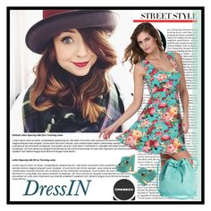 """DressIn"" by maida-demirovic ❤ liked on Polyvore featuring Mint & Rose, Luichiny and vintage"