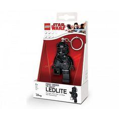 Star Wars Lego Tie Fighter Pilot Key Chain with Light, Multi-Colored Lego Star Wars, Star Wars Boba Fett, Star Wars Toys, Disney Star Wars, Lego Tie Fighter, Fighter Pilot, Star Wars Kylo Ren, Star Wars Darth, Products