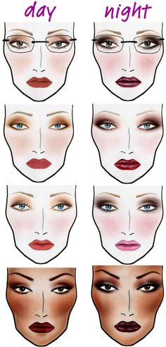 How To Apply Bridal Makeup Like A Pro : Face charts on Pinterest Mac Face Charts, Makeup Face ...
