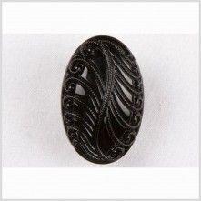 44L/28mm Black Glass Button