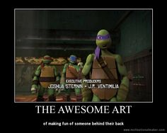 TMNT Poster - The Awesome Art by Theanimekitty89