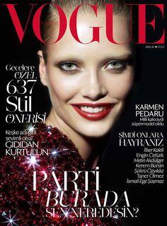 Karmen Pedaru for Vogue Turkey December 2013