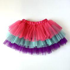 Jewel Rainbow Tutu - Satsuma Designs