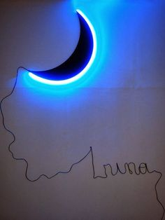 Leonid Tishkov: The Museum of Imaginary Moons The Moon of Federico Garcia Lorca, 2014. Metall, LED, electric cable, acrilic