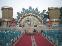 Wedding stage decoration is the main background to all your wedding almas weddings on jaipurwedding serviceswedding decorationsour junglespirit Images