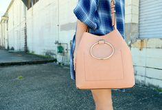 Peach LC Lauren Conrad Handbag