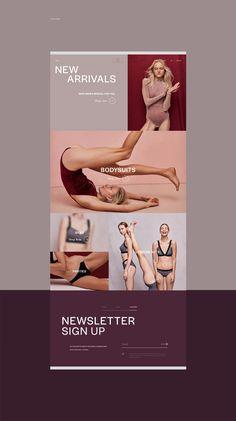 UNDRESS CODE - Online Store / Redesign on Behance Elegant Logo Design, Modern Web Design, Mobile Web Design, Ecommerce Website Design, Portfolio Web Design, Newsletter Design, Website Design Inspiration, Branding, Store Design