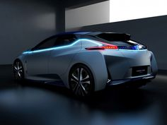 Nissan IDS Concept: the futuristic EV with a cabin that turns into a lounge  #design #nissan