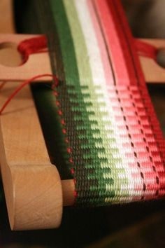 Making a Wallet from Inkle Bands Using the Ashford Inklette Loom I designed this watermelon wallet after visiting Dallas, Texas in June ...