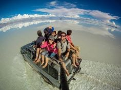 Around the World in 360° Degrees - 3 Year Epic Selfie.