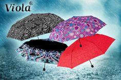 Dámské skládací deštníky s kvalitní odlehčenou karbonovou konstrukcí se zvýšenou odolností vůči větru (hmotnost pouze 220 g).