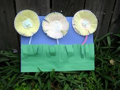 cupcake flowers craft
