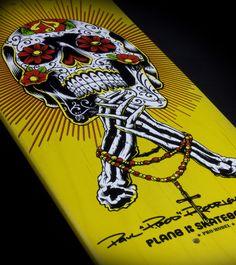 Plan B P-Rod deck.... Powell Peralta VCJ tribute