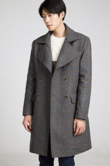 Redhomme Heathered Double Breasted CoatWalk in confidence with this ultra dapper heathered double breasted coat. It features classic notch lapel, long sleeves, and flap pockets for a classic and polished feel. With button-down closure and quilted lining for optimum warmth. Best paired with a dark blue pullover, slim fit slacks, and high gloss leather shoes.
