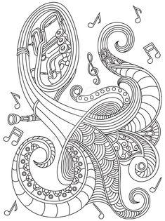 GST kolorowanka muzyka 02 podgld by QuaMiya on DeviantArt Camping Coloring Pages, Summer Coloring Pages, Quote Coloring Pages, Colouring Pages, Adult Coloring Pages, Coloring Books, Toilet Paper Roll Art, Rolled Paper Art, Summer Camp Art