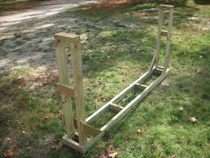Use these easy to follow firewood rack assembly instructions to build your own rugged and durable outdoor firewood rack.