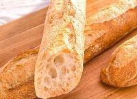 """Here's a tip I learned from a chef acquaintance:  The best way to reheat a store-bought baguette is to run it quickly under the tap with the water running and then put it directly into a 350 degree oven for about 10 minutes, until it's crisp on the outside and warm on the inside. I've done it this way many times...and it works!"" I have to try this!"